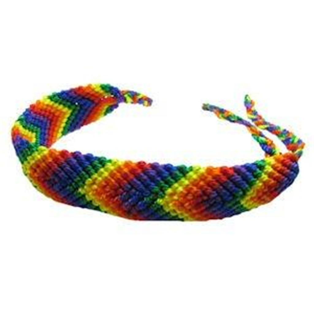 Gay pride friendship bracelet rainbow and bear pride ebay for Jewelry stores in bear delaware