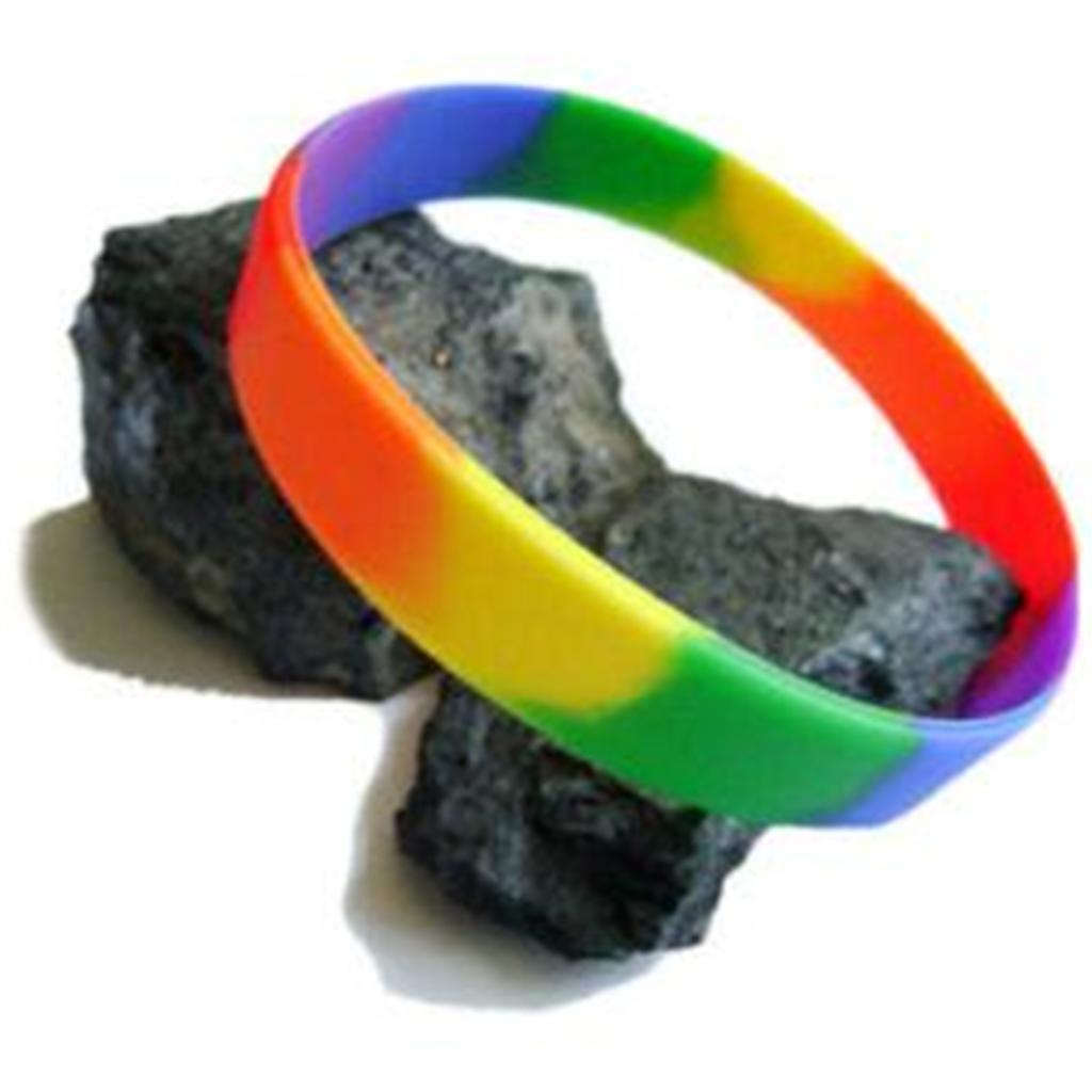 from Liam gay rubber bracelets