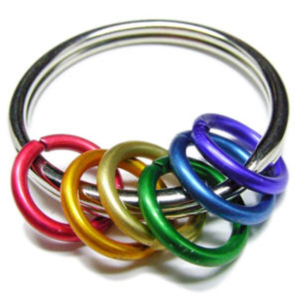 rainbow ring lgbt pride miniature - photo #34