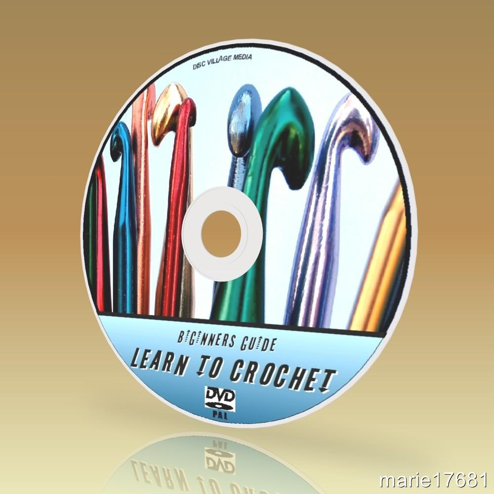 LEARN HOW TO CROCHET VIDEO DVD & PC CD WITH 800+ EASY TO ...