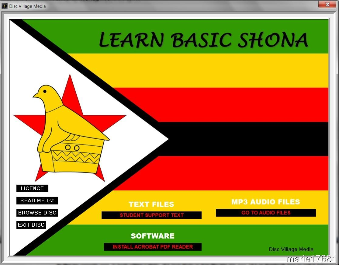 learn how to speak shona