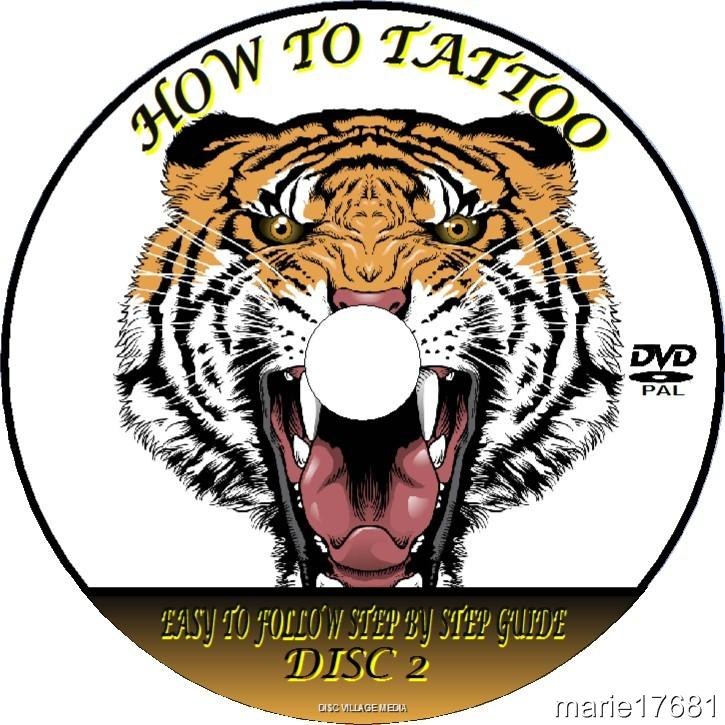 Tattooing step by step video dvd guide techniques tips for How to tattoo dvd