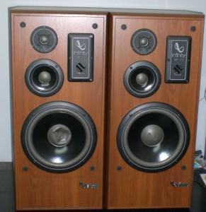 Infinity Studio Monitor Speakers Sm 112 Excellent