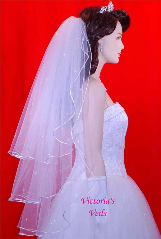 White Ivory veil