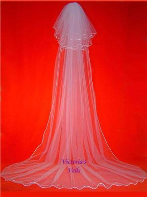 3 TIER CATHEDRAL BRIDAL WEDDING VEIL  59-3