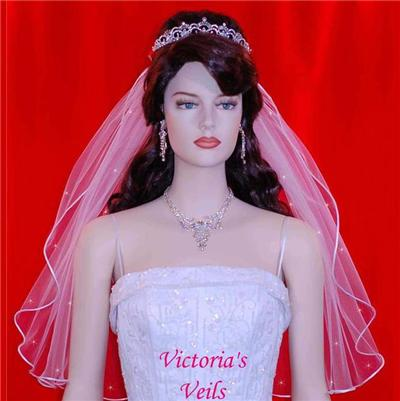 Bridal Veil Swarovski Rhinestone 25'' 3R3