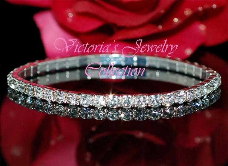 Rhinestone bracelet wedding prom accessories