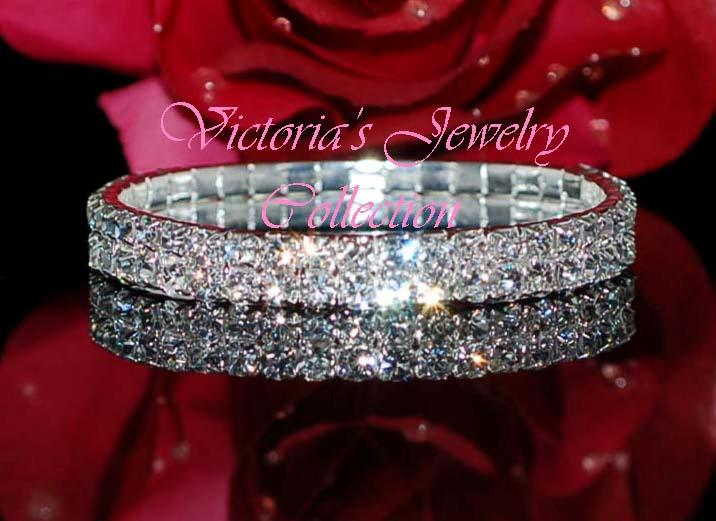 wedding bracelets rhinestone jewelry