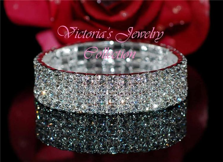 Affordable rhinestone bracelet