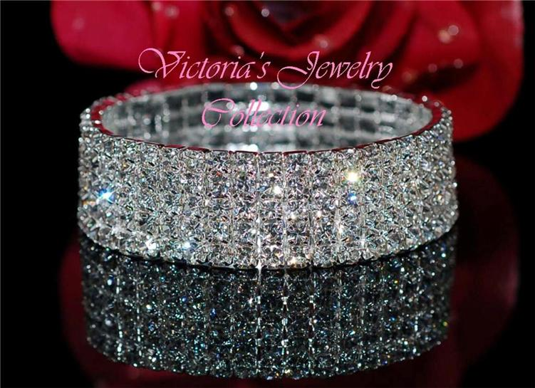 swarovski crystal wedding bridal bracelet
