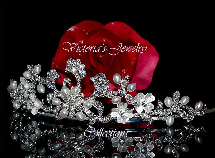 Rhinestone bridal tiara wedding accessories