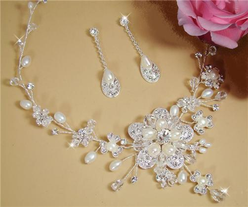 bridal necklace sets