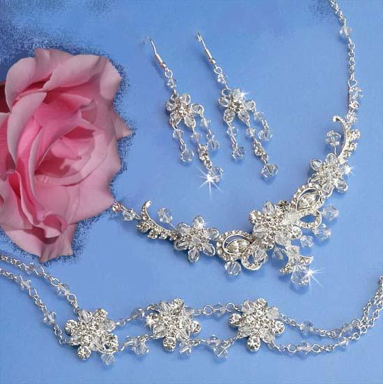 swarovski crystal necklace sets
