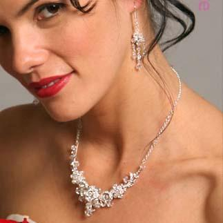 swarovski crystal necklace set