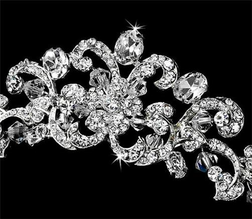 bridal tiara wedding prom accessories
