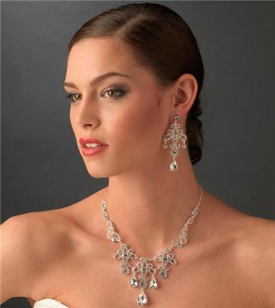 bridal Swarovski Crystal wedding prom accessories