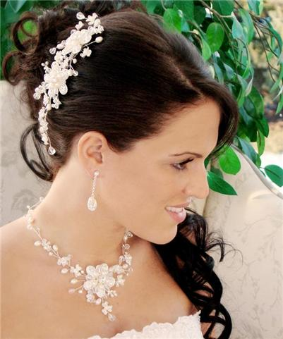 Freshwater Pearl Bridal Wedding Prom Jewelry