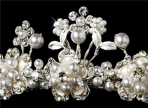 bridal hair comb wedding prom jewelry