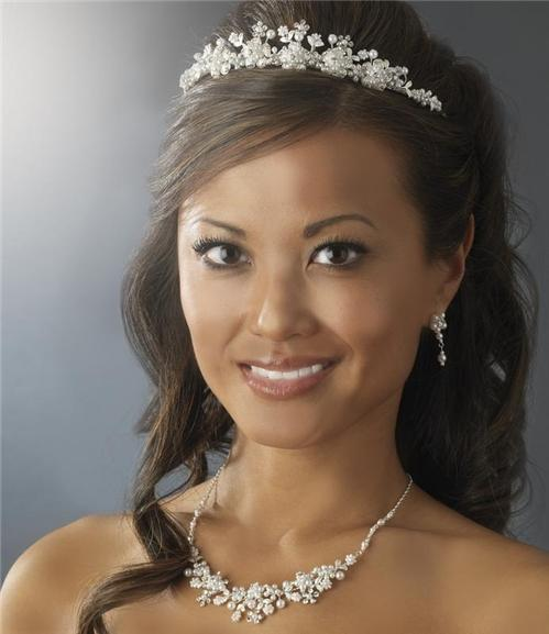 hair tiara bridal prom wedding