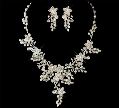 bridal Set wedding prom jewelry