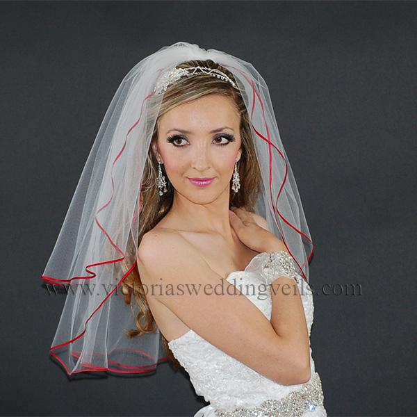 Apple Red bridal accessories