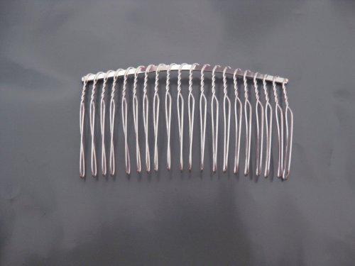 metal comb for wedding veils