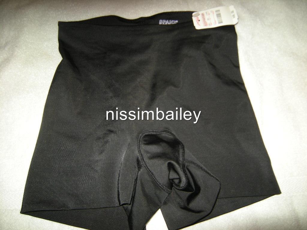 NWT-Spanx-Hide-Sleek-Girl-Short-Shorts-165-Beige-Black-S-M-L-XL-FREE-US-SHIP