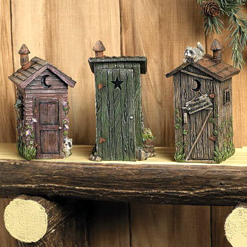 rustic bathroom outhouse accent light privy bath decor ebay. Black Bedroom Furniture Sets. Home Design Ideas