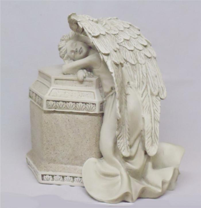 Personalized Angelic Pet Memorial Dog Statue Grave Marker Tomb Stone New