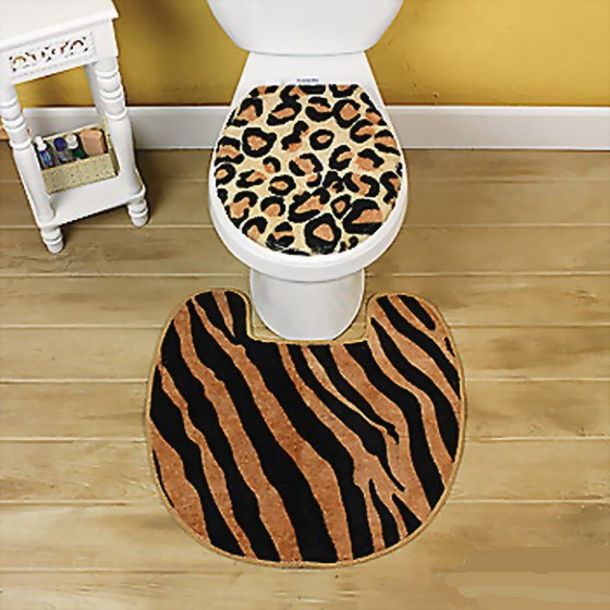 Animal print bathroom sets