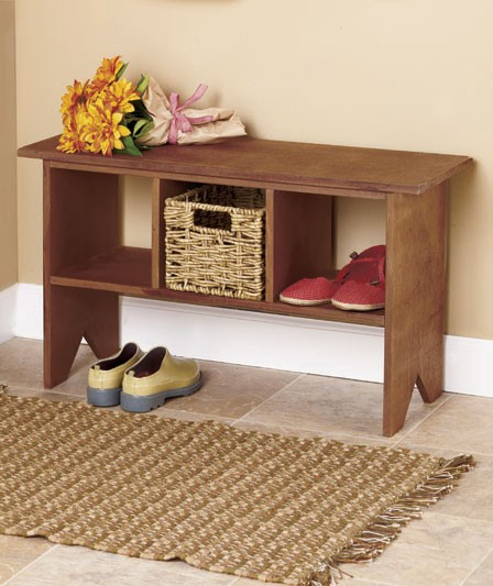 Best Country Rustic Hallway Decorating Ideas Bench: Rustic Country Farmhouse Wooden Entryway Bench Or Wall