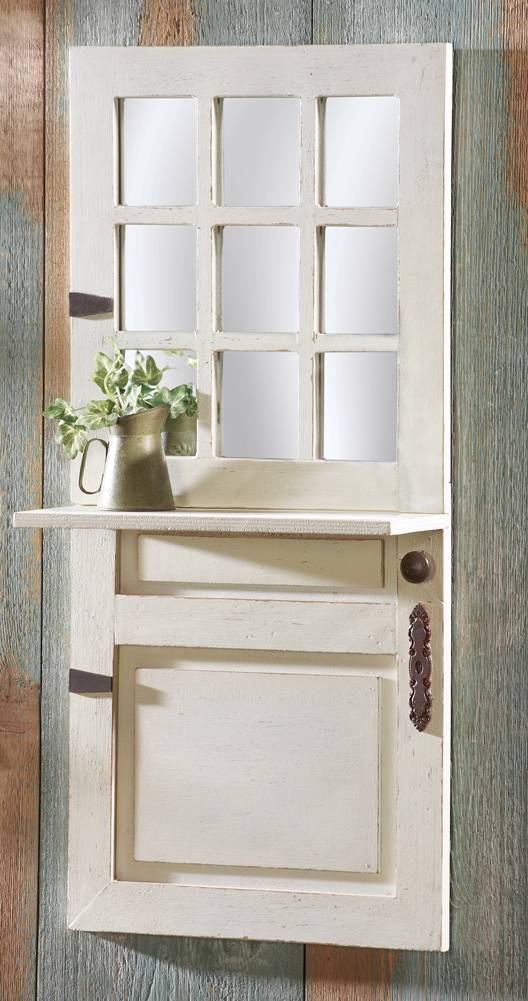 Rustic country farmhouse wooden entryway bench or wall for Bathroom designs 12x8