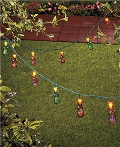 Outdoor Novelty String Lights Beer Bottles Party Lights Camping Patio BBQ NEW