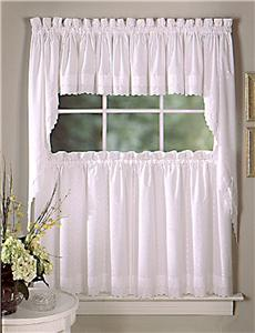 KITCHEN EYELET CURTAINS | Curtain Design