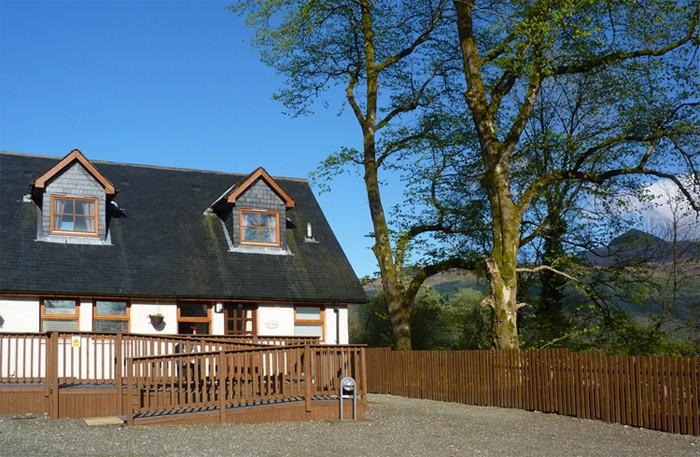 Ben Lomond Cottage Loch Lomond Trossachs Scotland
