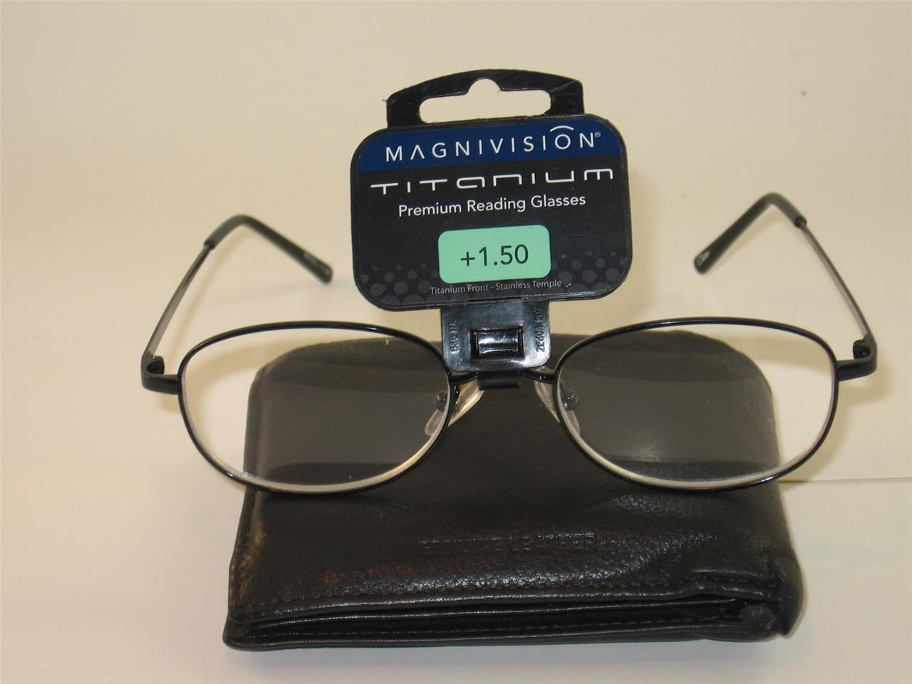 foster grant titanium reading glasses nwt t4 ebay