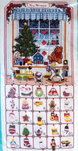 Free Crochet Pattern Christmas Light Advent Calendar - Crocheting