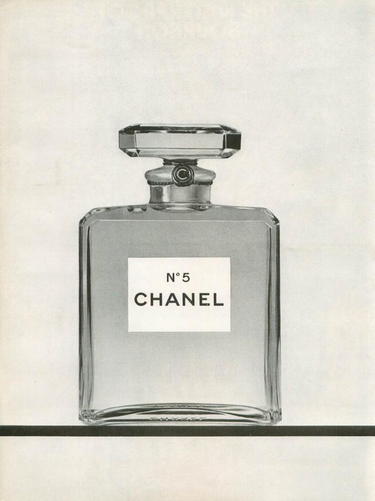 1968 Chanel No 5 Perfume Ad Vintage 8x11 Black White Print Advert
