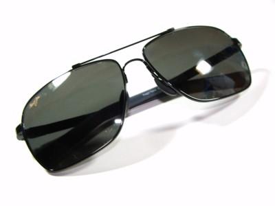 Maui Jim Sunglasses 326 02 Polarized Black New Auth