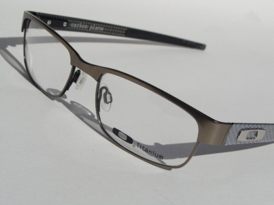 Oakley Eyeglasses Carbon Plate Ox5079 0253 Titanium New