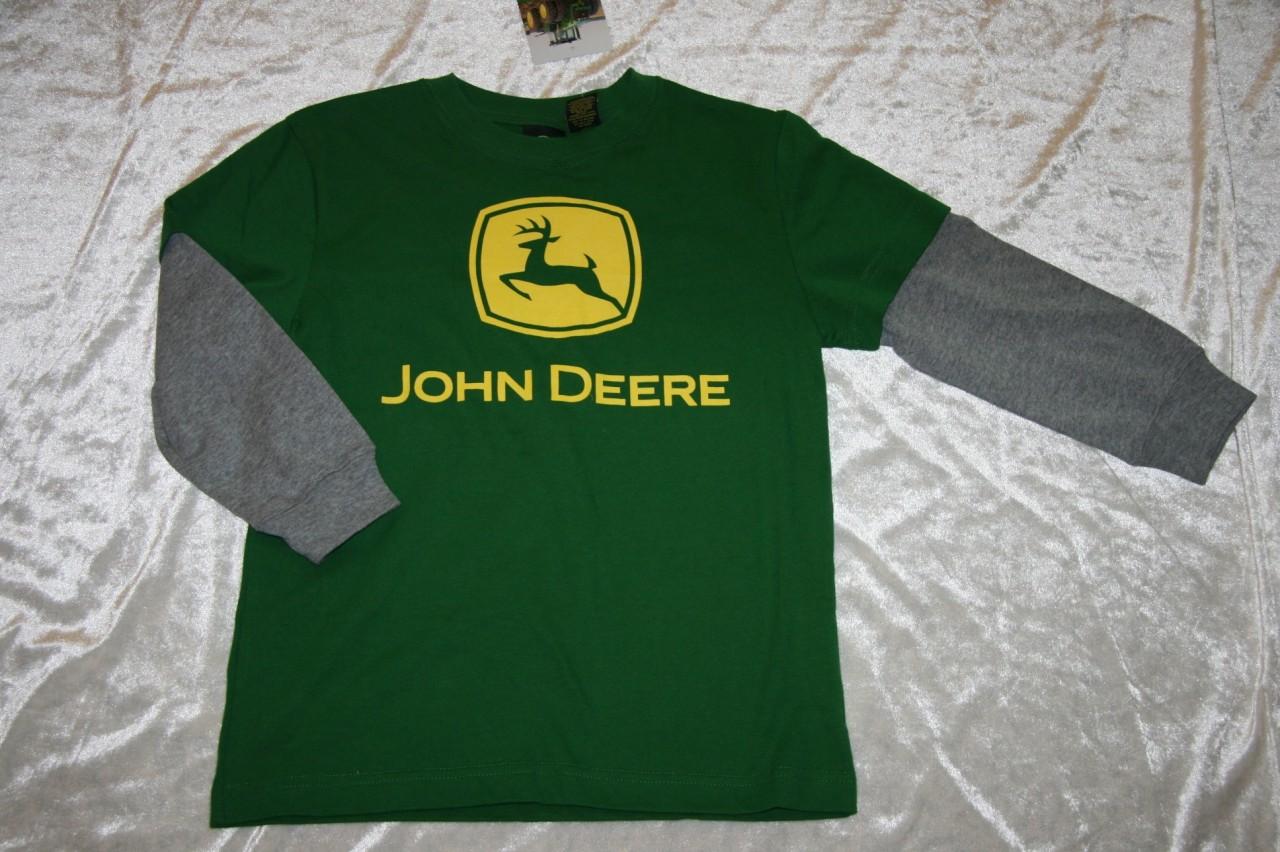 Nwt john deere 8 10 12 14 16 18 boys t tee shirt you for John deere shirts for kids