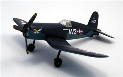 WWII F4U Navy Bird Cage Corsair Military Fighter aircraft 1:48 scale