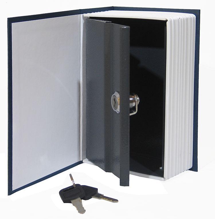 Libro Cassaforte Dizionario Blu Cassetta Di Sicurezza In