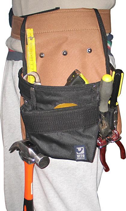 Cintura porta attrezzi borsa da lavoro falegname muratore - Porta metro da cintura ...