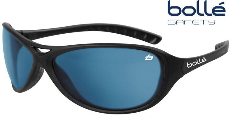 Occhiali da sole bolle 39 da uomo avvolgenti lenti blu - Occhiali specchio blu ...