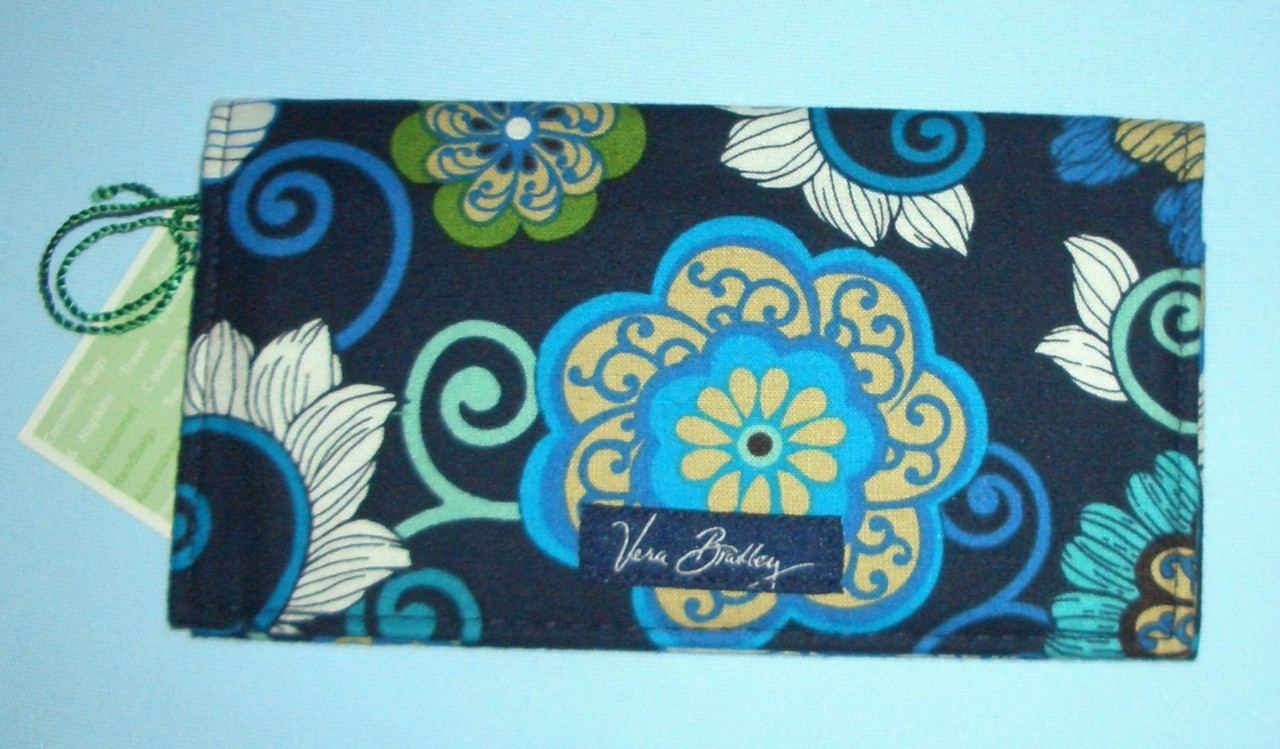 Cheque Book Cover Pattern ~ Vera bradley checkbook check book cover holder choice of
