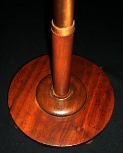 RARE ART DECO EGYPTIAN REVIVAL FRANKART COPPER & WOOD FLOOR LAMP NO. 1
