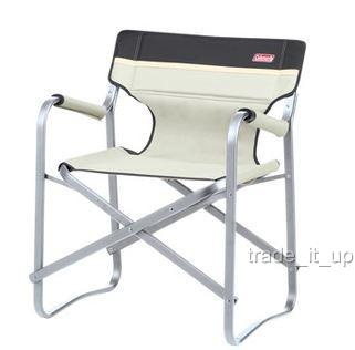 Coleman Standard Aluminium Camping Folding Deck Chair In