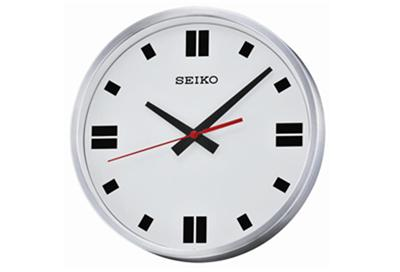 qxa566s new seiko battery powered wall clock with quiet sweep second