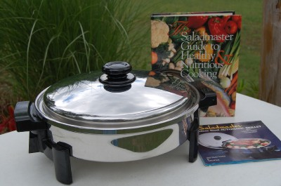 how to use saladmaster electric skillet